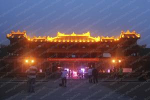 Đèn led chiếu sáng kiến trúc công trình, Ngọ Môn, Đại Nội quần thể di tích cố đô Huế