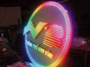 Đèn led trang trí đô thị - Biểu trưng thành phố Ninh Bình