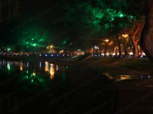 Đèn led trang trí đô thị - trang trí bờ Hồ Thiền Quang nhân dịp 1000 năm Thăng Long – Hà nội
