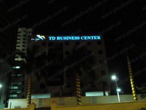 Biển quảng cáo led tại tòa nhà thùy dương hải phong