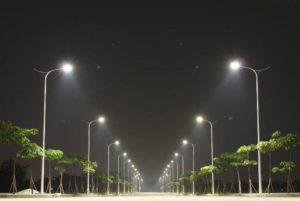 Đèn led chiếu sáng đường phố 1