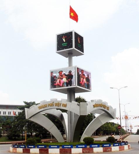 Màn hình led sân khấu ngoài trời tại Việt Trì - Phú Thọ