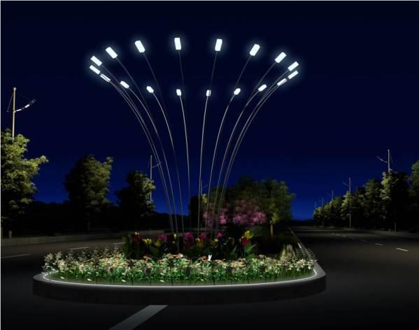 Đèn led trang trí đô thị tại Chương Mỹ, Hà Nội