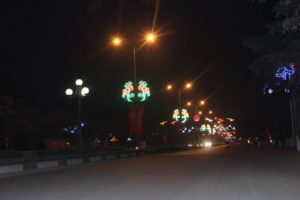 Đèn led trang trí đô thị tại Vĩnh Yên, Vĩnh Phúc