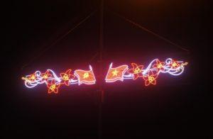 Đèn led trang trí đường phố tại Bắc Ninh