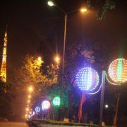 Đèn led trang trí đường phố tỉnh Vĩnh Phúc