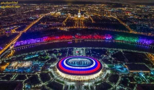 Sân vận động Luzhniki thủ đô Maxcova