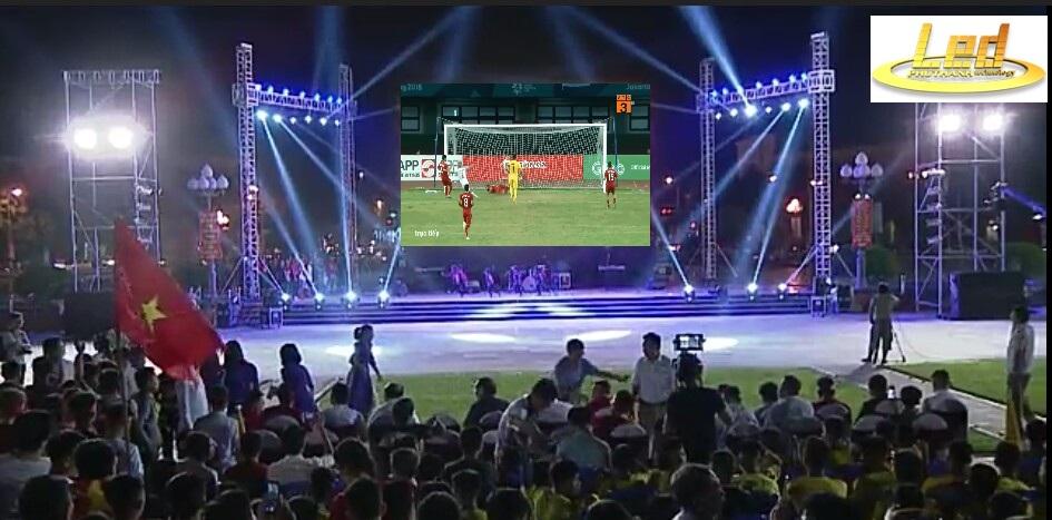 màn hình led sân khấu ngoài trời tại Vinh, Nghệ An
